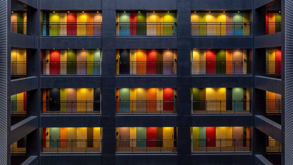 賃貸生活のアパート画像